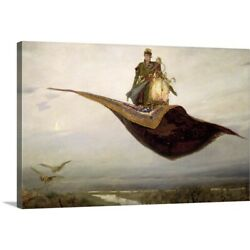 Solid-Faced Canvas Print Wall Art entitled The Magic Carpet 1880
