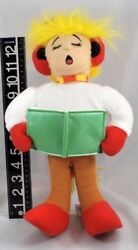 Christmas Caroler Boy Singing Plush 14