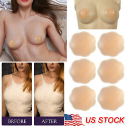 315 Pairs Reusable Self Adhesive Silicone Breast Bra Nipple Cover Pad Pasties