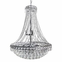 Classic Empire Tiered Crystal Chandelier French Art Deco Style 24quot; x 30quot; $687.99