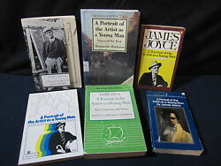 James Joyce: Portrait of the Artist Young Man Set of 5 w Guide-Incl. Shipping!!
