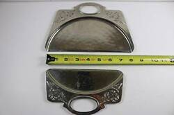 Farberware Silver Plated Brass Crumb Dust Pan Butler Brooklyn NY