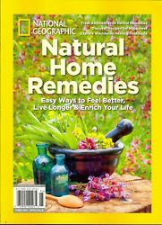 Natural Home Remedies National Geographic 2019 Feel Better Live Longer Enrich $9.99
