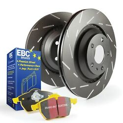 S9KF1060 EBC Brakes S9KF1060 S9 Kits Yellowstuff and USR Rotors Fits 10-15 335i