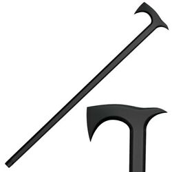 Cold Steel Axe Head Walking Stick 38quot; Hiking Trekking Tactical Defense Cane BLK $49.91