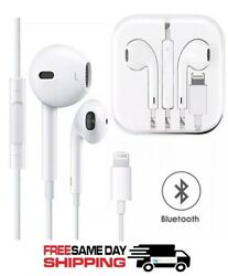 Bluetooth Wired Earbuds Headphones Headsets In ear for iPhone Apple X 6 7 8 plus $9.97