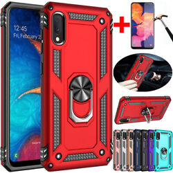 For Samsung Galaxy A10 A10e A20 A30 A50Shockproof Magnetic Ring Stand Case Cover