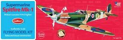 Guillow#x27;s Supermarine Spitfire Balsa Wood Model Airplane Kit WWII GUI 504 $28.95