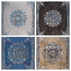 Traditional Oriental Medallion Distressed Area Rug 8x10 Multicolor Rugs 5x8 $89.94