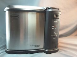 Butterball Electric Fryer Large Turkey up to 20 lbs. Indoor Stainless Deep Fry
