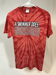 Funny Novelty Swimming T shirt Funny Shirts Gifts For Swimmer A Swimmer Does... $10.00