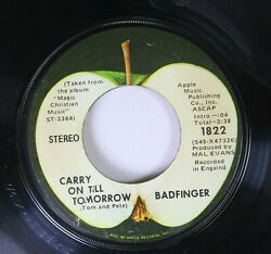 Rock 45 Badfinger - Carry On Till Tomorrow  No Matter What On Apple Music Publi