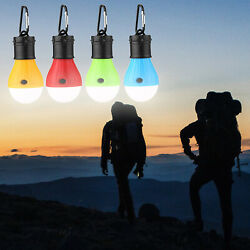 4 X Camping Hanging Hike LED Light Bulb Tent Lantern Outdoor Emergency Lamp
