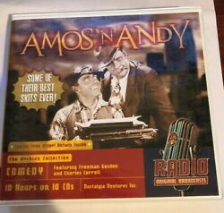 Amos 'N' Andy Some of Their Best Skits Ever 10 CD Set Old Time Radio 10 Hours