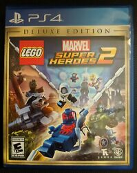 LEGO Marvel Super Heroes 2 Deluxe Edition (Sony PlayStation 4 2017)