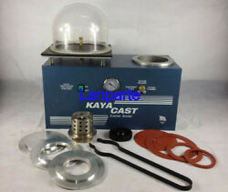 Wax Cast Combination Vacuum Investing And Casting Machine Jewelry Tool 220V