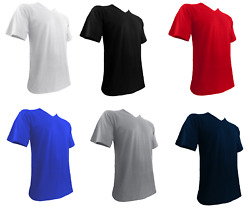 Mens Big and Tall Shirts V Neck Shirts for Men S to 7XLT $11.99