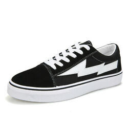 Black White Revenge X Storm Casual Cavnas Sneakers Men Women Low Shoes Trainers