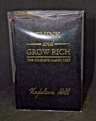 Think and Grow Rich by Napoleon Hill NEW Deluxe Leather Perfect Gift