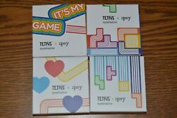 Set of 4 Tetris x Ipsy Eyeshadow SET: Block Party Top Out T Spin Game Night 2g $11.99