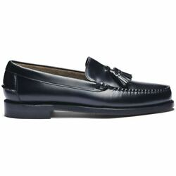 Sebago Classic Will Loafers Men's Leather Full Flower Stitched a Mano Heel Dial