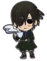 Black Butler Patch Ciel Cosplay Anime Manga Officially Licensed New