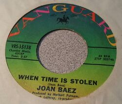 Joan Baez ~ The Night They Drove Old Dixie Down  When Time is Stolen ~ (VG+)