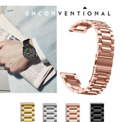 NEW Rose-Gold 18mm Universal Watch Metal Straps Wrist Bands Stainless Steel