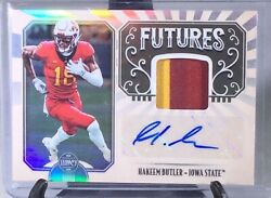 Hakeem Butler 2019 Legacy 2 Color RPA Rookie Patch Auto FP-HB RC Cardinals