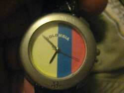 United Colors of Benetton Columbia Watch with faux aligator band.Running fine..