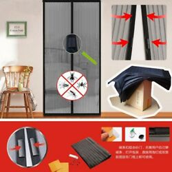 Magnetic Insect Door Net Screen Snap Bug Mosquito Fly Insect Curtain Mesh Guard