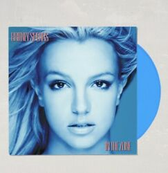 Britney Spears - In the Zone Limited LP Exclusive Blue Vinyl Record