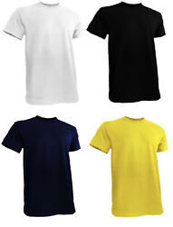 Mens Big and Tall Shirts Short Sleeve Round Neck M to 5XL $8.99