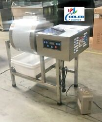 Meat Poultry Tumbler Marinator Mixer Machine S S with Bloating $1990.00