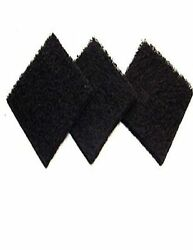 Fits Exaco ECO 2500 Pack of Three Replacement Carbon Filters For Kitchen Compost $8.99