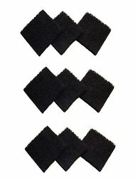 Fits Exaco ECO 2500 Pack of 9 Replacement Carbon Filters For Kitchen Compost $23.99