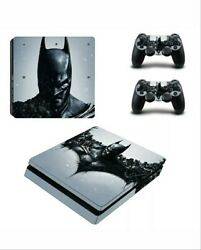 Batman Vinyl Skin Sticker Protect for PS4 Slim Console & Controller Decals