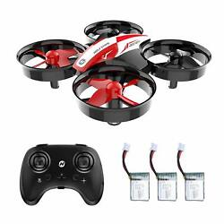 Holy Stone HS210 Mini Drone Auto Hovering RC Quadcopter 3 Batteries 3D Flip Gift $23.99