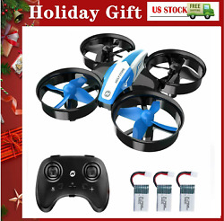 Holy Stone HS210 Mini Drone Auto Hover RC quadcopter 3 battery 3D Flip Headless $25.99