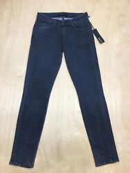 Genetic x Adelle Gray Denim Mid Rise Skinny Ankle Jeans Size 27  US 4 NWT A9