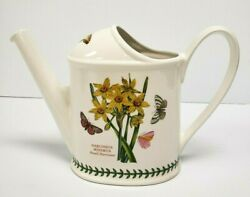 PORTMEIRION Botanic Garden WATERING CAN 3-pints NARCISSUS CYCLAMEN Old Mark