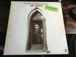 Jim Croce - You Don't Mess Around With Jim - LP Album Vinyl - VG+ Cond  ABCX 756