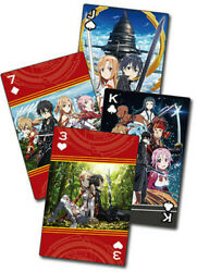 Sword Art Online - Group Playing Cards (Game Misc Used Very Good)