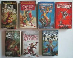 Christopher Rowley Bazil Broketail Complete Series Books 1-7 Paperback