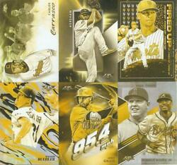 2019 TOPPS FIRE GOLD MINTED RETAIL INSERTS ***YOU PICK***