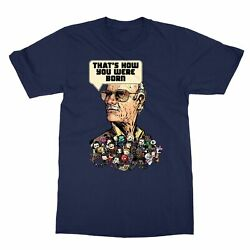 Stan Lee Superheroes That's How You Were Born Men's T-Shirt
