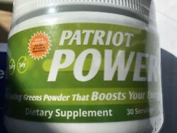 Patriot Power Greens Berry Flavor 5.7oz * 30 Serv.* FREE SHIPPING!