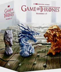 Game of Thrones Complete Series Seasons 1-7 (DVD 34-Disc Boxed Set) SEALED