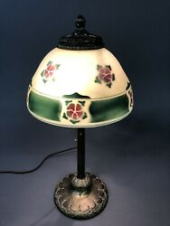 Antique Pittsburgh Lamp & Brass Co. Base Adjustable Shade Support 21