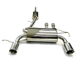 OBX Cat Back Exhaust System Fits For 2001 02 03 04 05 2006 Audi TT Quattro
